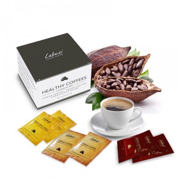 healthy koffe zdrava kava darčekové balenie