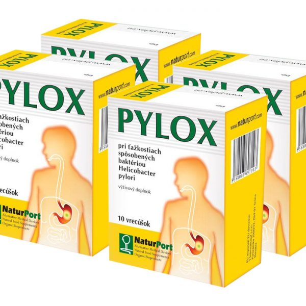 PYLOX 4ks liečba helokobactera pylori