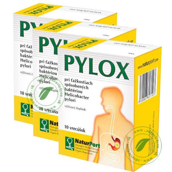 PYLOX liečba helokobactera-pylori-3ks